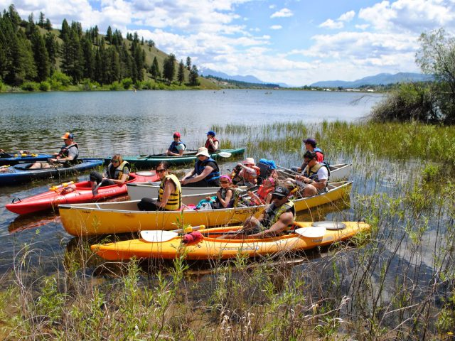 Kayaking and canoeing as a group
