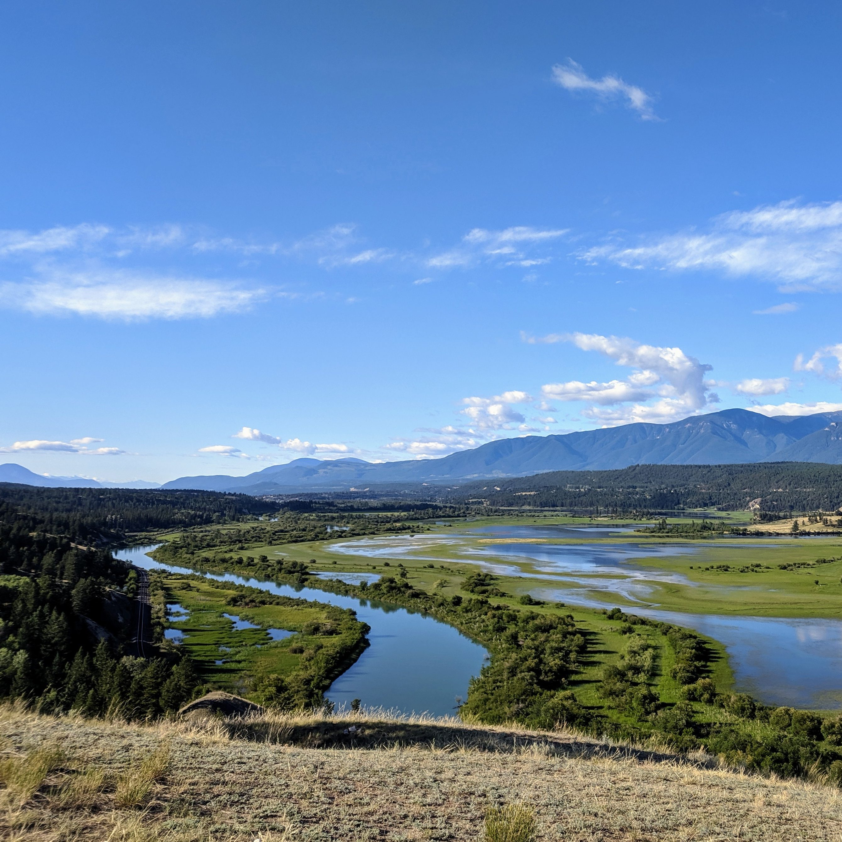 Columbia River and Wetlands